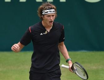 Halbfinal-Hammer in Halle: Zverev gegen Federer