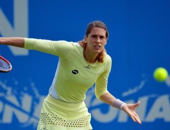 Regen in Wimbledon: Petkovic und Zverev führen deutlich, müssen aber nachsitzen