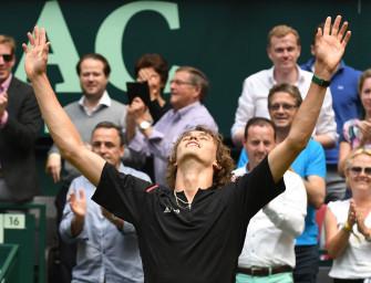 Haller Wahnsinn! Zverev schlägt Federer und steht im Finale
