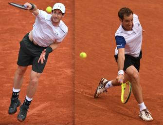 Match des Tages am Mittwoch: Murray gegen Gasquet