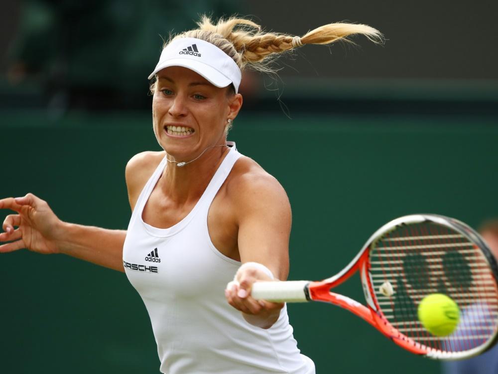 Kerber ist Nr.1 des deutschen Tennis-Teams bei Olympia