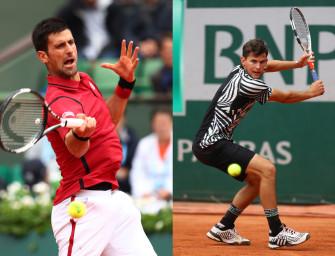Unser Match des Tages am Freitag: Djokovic gegen Thiem