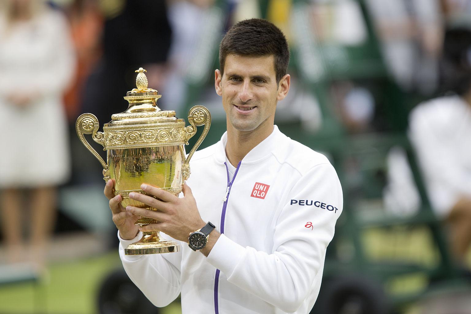 Zwar konnte Novak Djokovic seinen Titel in Wimbledon verteidigen, von seinen zwei Millionen Pfund Preisgeld wird allerdings nichts übrig bleiben.