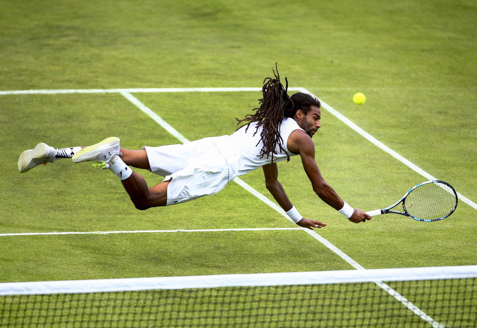 Rasenzeit ist Dustin Brown-Zeit. Mit dem Sieg beim Challenger in Manchester sicherte er sich eine Wildcard für Wimbledon.