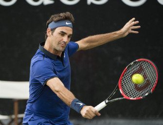 Federer, Kohlschreiber und Goffin im Viertelfinale von Halle
