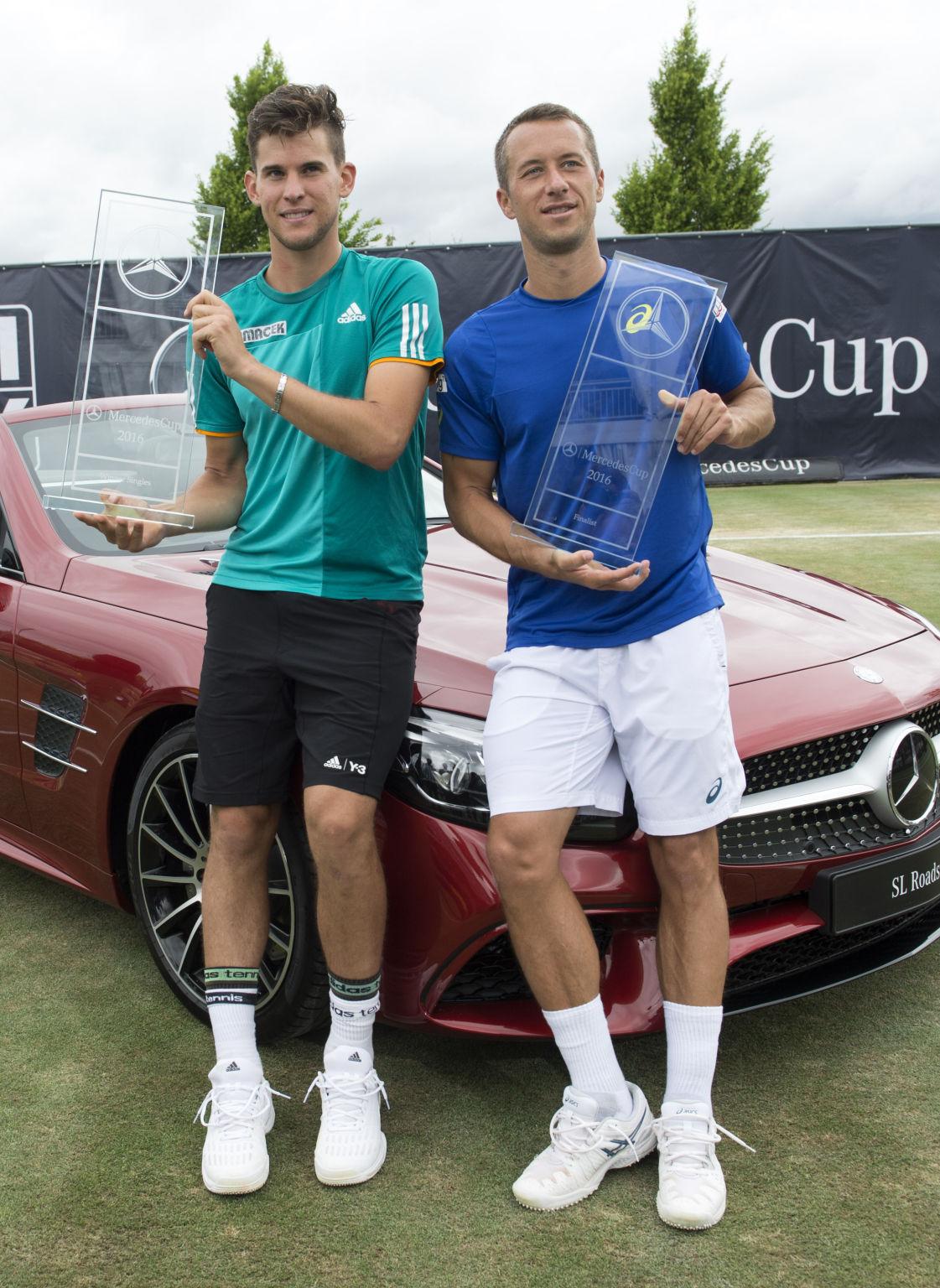 Nach den BMW Open in München war es bereits das zweite Finale der beiden in diesem Jahr.