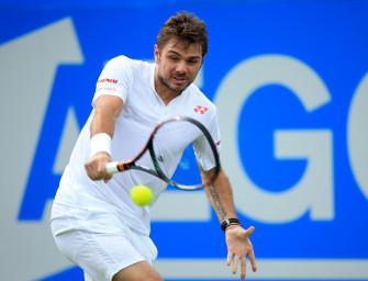 ATP Queens: Wawrinka scheitert in Runde eins