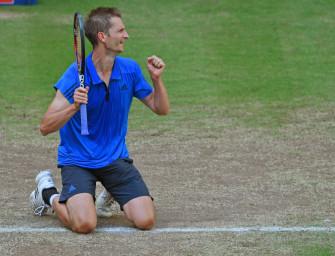 Nach Turniersieg in Halle: Mayer macht 112 Plätze gut
