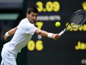 Djokovic souverän – Ivanovic raus