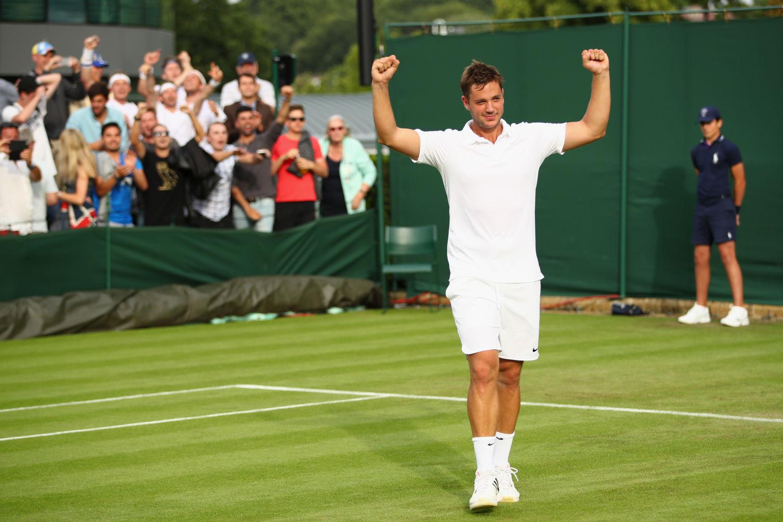 Marcus Willis ist die Sensation von Wimbledon 2016.