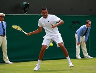 """Podcast aus Wimbledon: """"Kyrgios gegen Brown wird ein Kracher"""""""