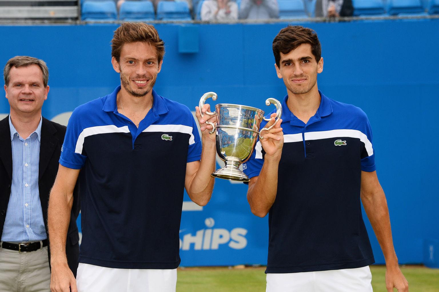 Mahut (l.) und Herbert holten sich den Titel in Queen´s.