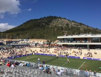 Mallorca Open: Premiere auf Rasen!