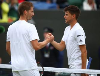 Wimbledon: Mayer verliert Wiedersehen mit Thiem
