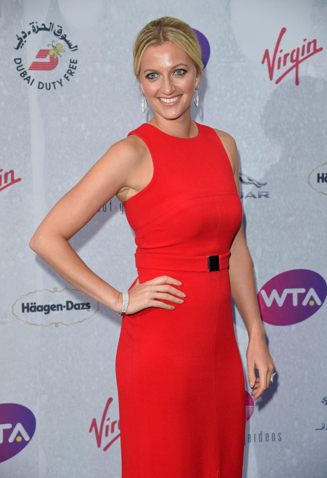 Die zweifache Wimbledon-Siegerin Petra Kvitova