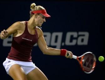 Sieg über Kasatkina: Kerber im Montreal-Halbfinale