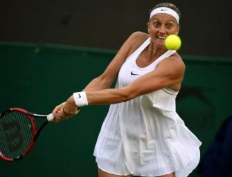 Wimbledon: Kvitova raus in Runde zwei