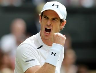 Murray im Viertelfinale von Wimbledon