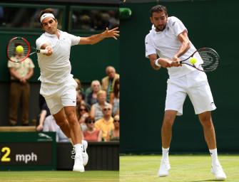 Match des Tages am Mittwoch: Federer gegen Cilic