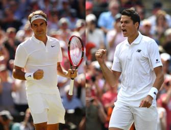 Match des Tages am Freitag: Federer gegen Raonic
