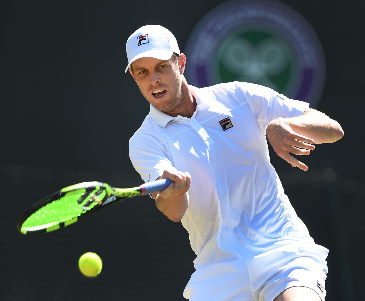 Sam Querrey besiegte nach Novak Djokovic auch Nicolas Mahut.