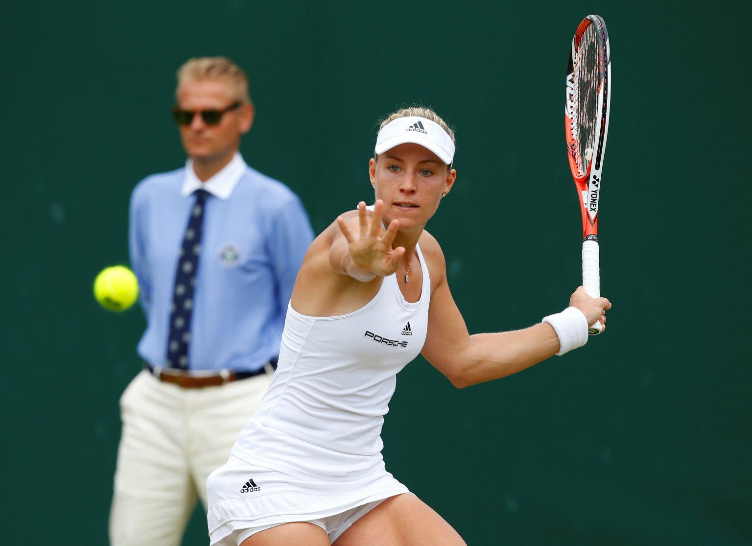 Angelique Kerber ist zurück auf Platz zwei in der Weltrangliste.