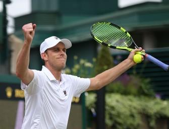 Djokovic-Bezwinger Querrey erstmals im Viertelfinale