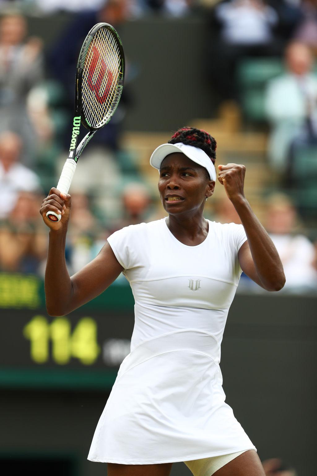 Venus Williams steht in ihrem ersten Halbfinale seit den US Open 2010.