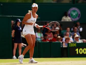Angelique Kerber: Ihr Weg ins Wimbledon-Finale