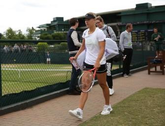 """Kerber vor Wimbledonfinale: """"Kopf und Körper geht es gut"""""""