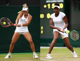 Match des Tages am Donnerstag: Kerber gegen Venus Williams