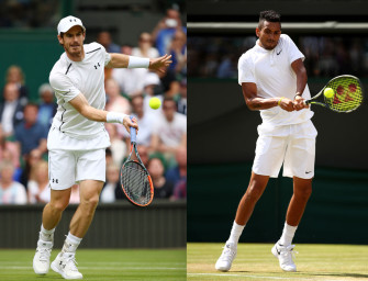 Match des Tages am Montag: Murray gegen Kyrgios
