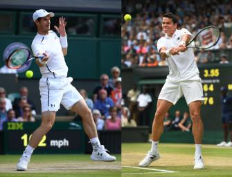 Match des Tages am Sonntag: Murray gegen Raonic