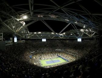 US Open: Dach über Arthur Ashe Stadium eingeweiht