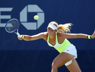 US Open: Witthöft als erste Deutsche in Runde drei