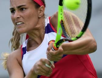 US Open: Olympiasiegerin Puig in Runde eins ausgeschieden