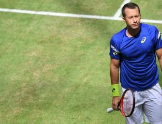Kohlschreiber nach Fußverletzung zuversichtlich für die US Open