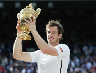 Andy Murray trägt britische Fahne im Maracanã