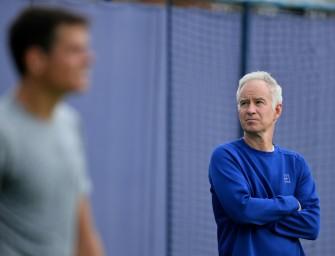 McEnroe beendet Zusammenarbeit mit Wimbledonfinalist Raonic