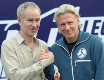 Borg und McEnroe Kapitäne beim neuen Laver Cup