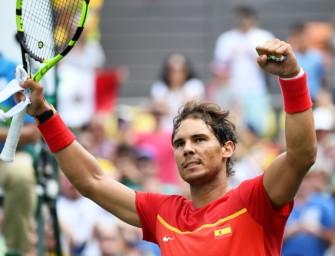Olympia: Nadal nach Sieg über Simon im Viertelfinale