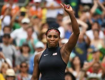Serena Williams startet Gold-Mission erfolgreich