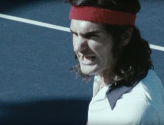 Federer rastet aus wie McEnroe – aber nur im Werbeclip