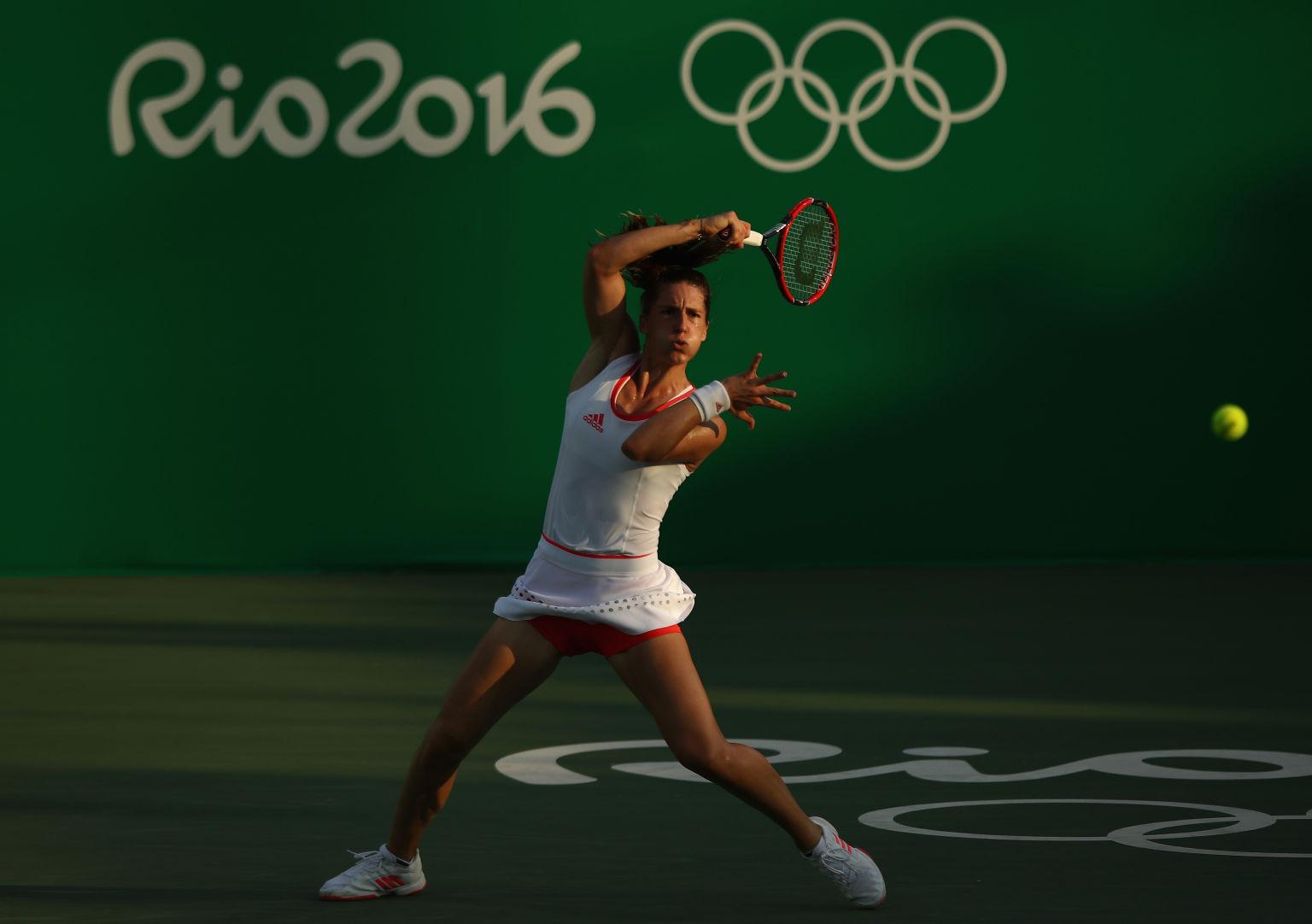 Kurzes Vergnügen: Andrea Petkovic unterlag Elina Svitolina in Runde eins.