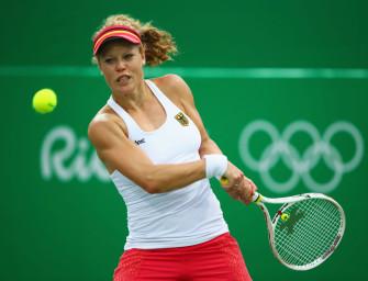 Olympia-Debütantin Siegemund im Achtelfinale von Rio