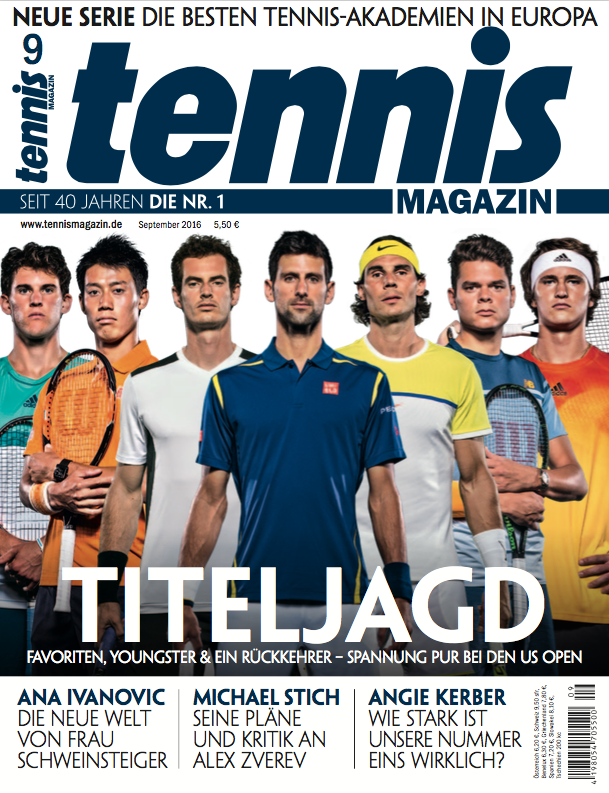 tennis Magazin 9:2016
