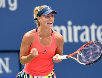 Kerber im Halbfinale der US Open – nun gegen Wozniacki