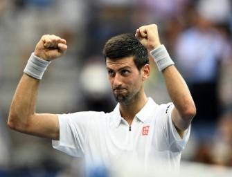 Djokovic zum siebten Mal im Finale der US Open