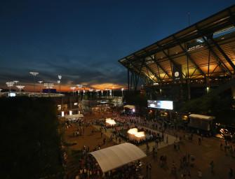 US Open-Tagebuch: Wenn es dunkel wird in New York…