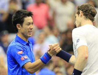 Viertelfinal-Video: Nishikori wirft Murray raus